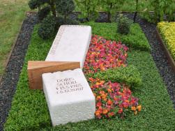 Beispiel Bodendecker Urnengrab