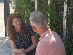 Dr. Anna Christmann und Hans Müller am MGZ in Stuttgart