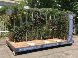 Mobiles Grünes Zimmer beim Innovationstag Mittelstand 2018