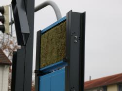 Moos-Testwände in Ludwigsburg