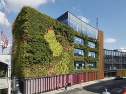 Fassadenbegrünung Helix® Biomura