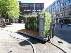 Helix® MGZ in Stuttgart - Auffüllen des Wassertanks