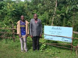 Renaturierte Quelle zur Unterstützung der Maasai-Bevölkerung